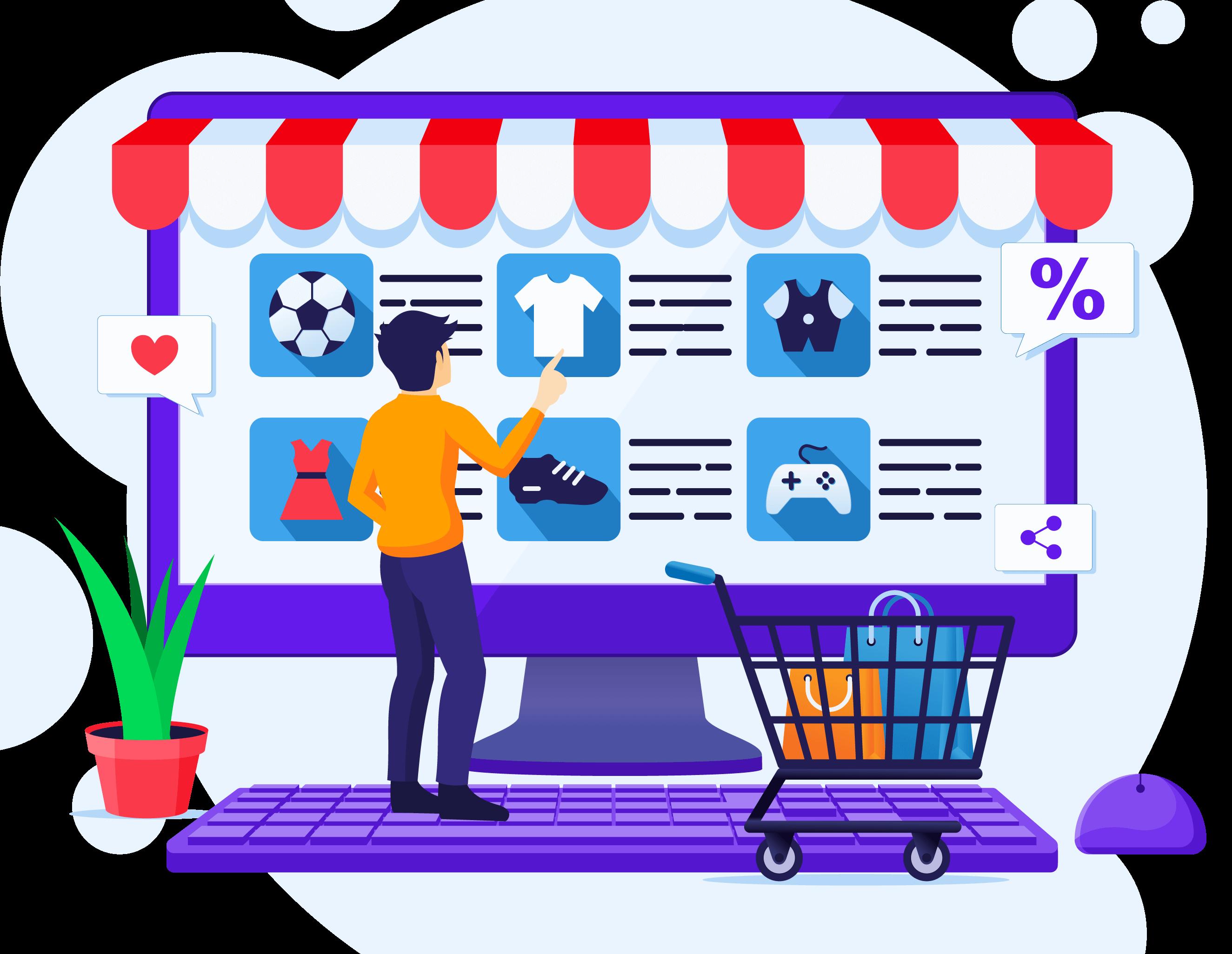 Tienda virtual comprar