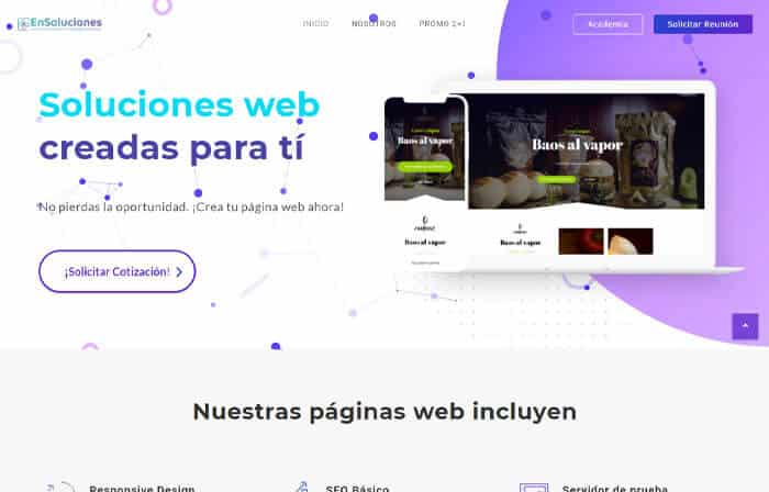 5 ensoluciones.com version escritorio - ensoluciones.com páginas web, marketing digital y aulas virtual