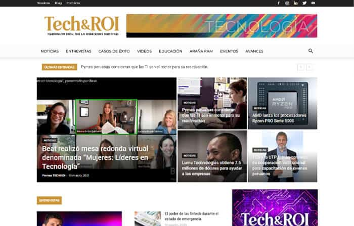 6 techroi version escritorio - ensoluciones.com páginas web, marketing digital y aulas virtual