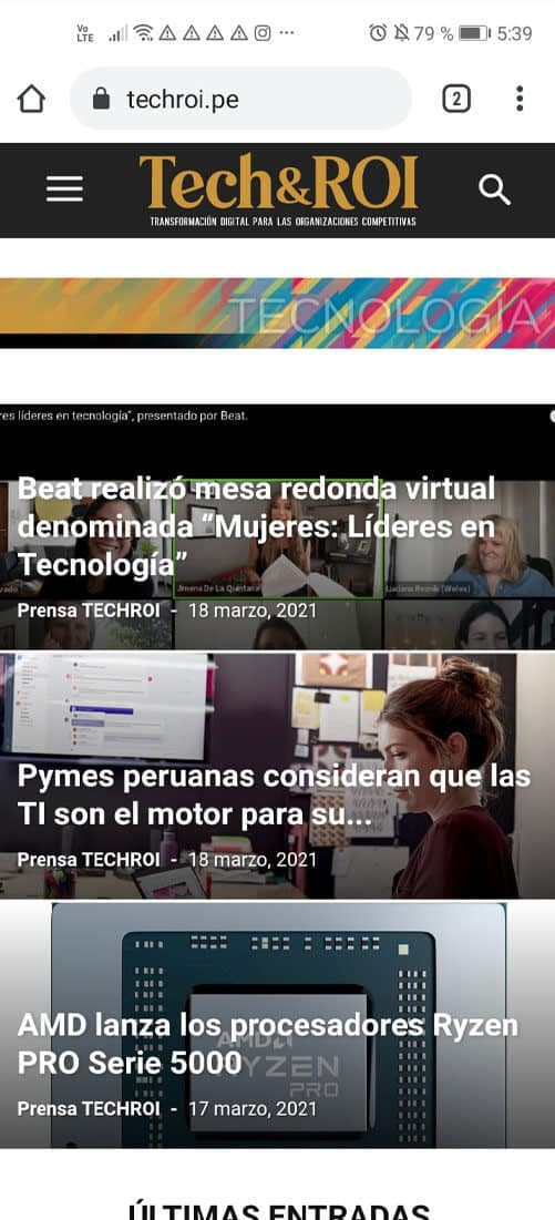6 techroi version mobile - ensoluciones.com páginas web, marketing digital y aulas virtual